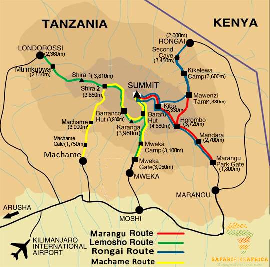 mt.-kilimanjaro-trekking-mapa